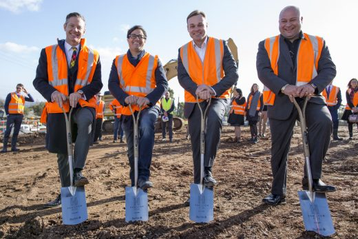 Starfish Developments moves the earth for Hamilton Hill at Woodforde